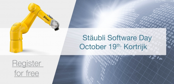 STAUBLI ROBOTICS SOFTWARE DAY 19 OKTOBER