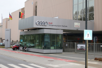AUDI START BOUW E-TRON IN BRUSSEL